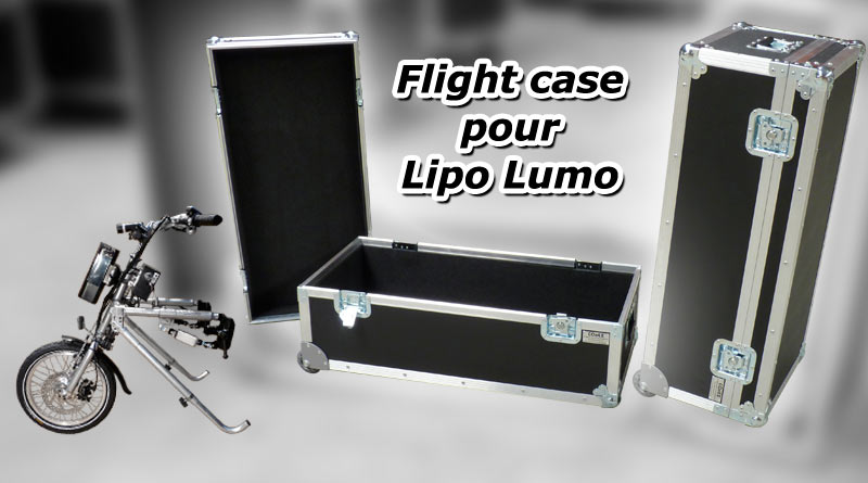 flight case pour lipo lomo