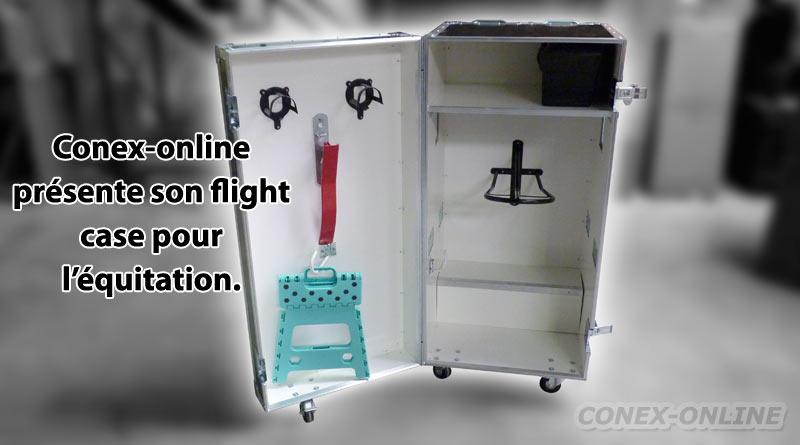 flightcase pour equitation