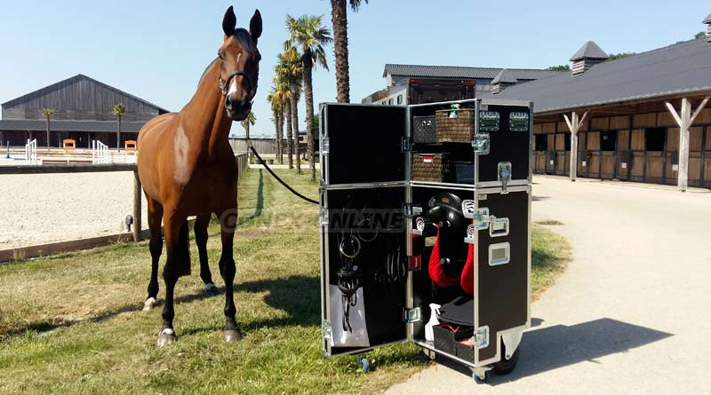 flight case sur mesure equitation