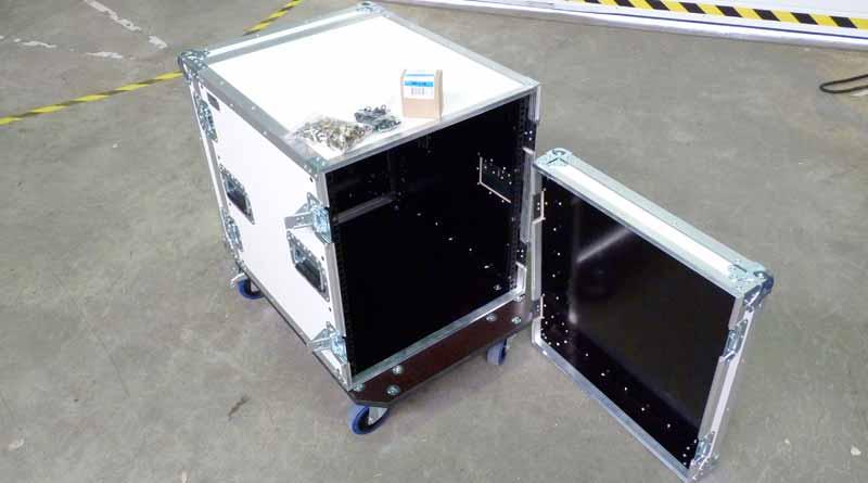 rack 19 pouces flight case