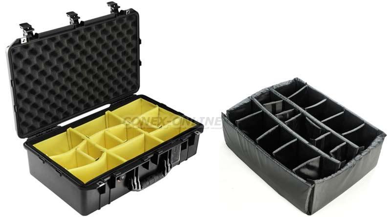 valise étanche avec cloison amovible