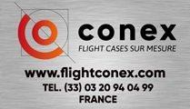 La référence du Flight case sur mesure par Conex